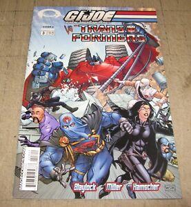 GI JOE vs TRANSFORMERS #4 Cover A (Sept 2003) VF- Condition Comic - ARAH Image