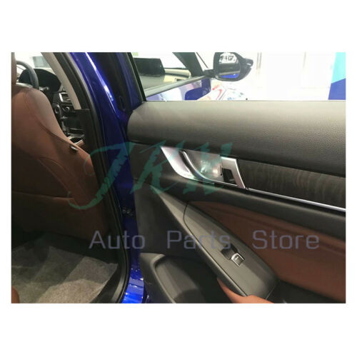 ABS Inner Car Door Handle Bowl Cover Trim 4x Assy o For Honda Accord 2018 2019