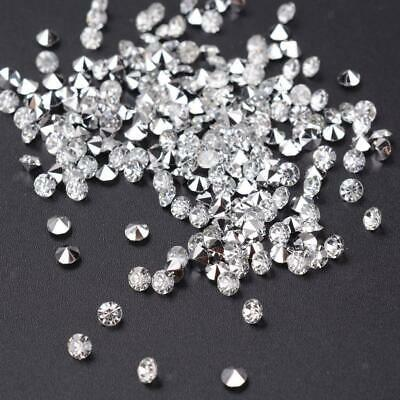 5000 CRYSTALS BLACK  WEDDING TABLE CONFETTI DECORATION SCATTER DIAMOND  PARTY