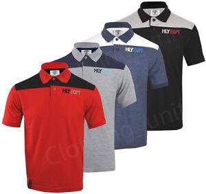 XXL New Men Short Sleeve Plain Polo Shirt T Shirt Top Casual Cotton Mix S