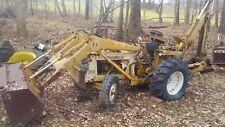 International Harvester Backhoe 3444 Tractor 70sback Hoe Case