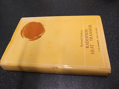 RADIATION HEAT TRANSFER by E.M.SPARROW & R.D.CESS ~~1970 H/B with D/W~~