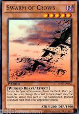 SHSP EN042 1ST ED 3X SWARM OF CROWS RARE CARDS