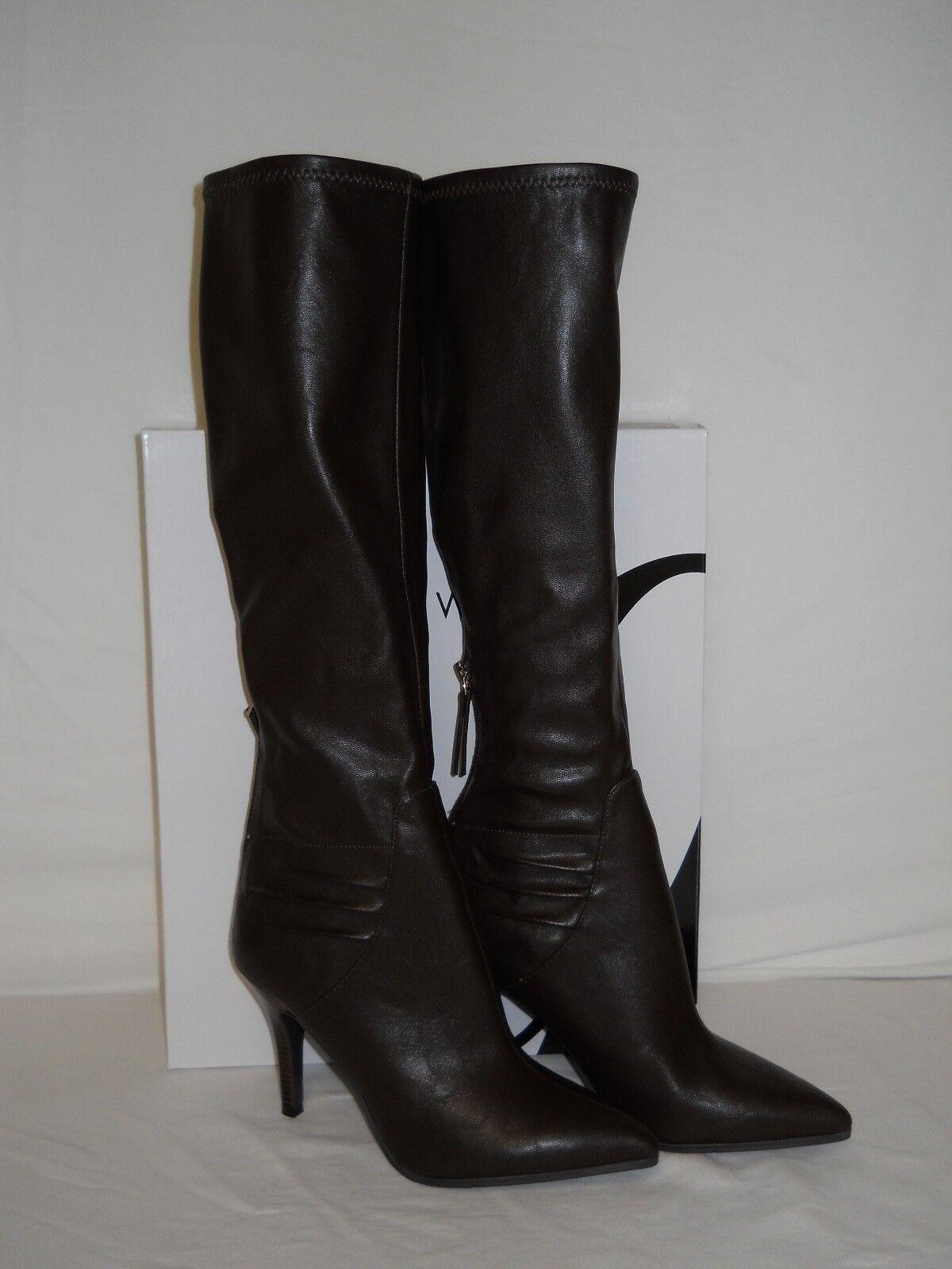 Nine West New Damenschuhe Fairvinda Dark Braun Stiefel 5.5 M Schuhes NWB