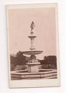 Vintage-CDV-Theatre-Francais-Fountain-Paris-Fratelli-Alinari-Photo-Florence