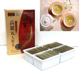 Ginsengtee-Auszug-Korean-Ginseng-Granule-Tea-Health-Food-3g-X-100bags