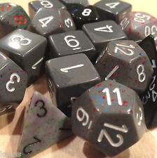 Chessex BY COLOR - 3 ounces assort. GRAY dice from Pound-O-Dice - Pound Dice