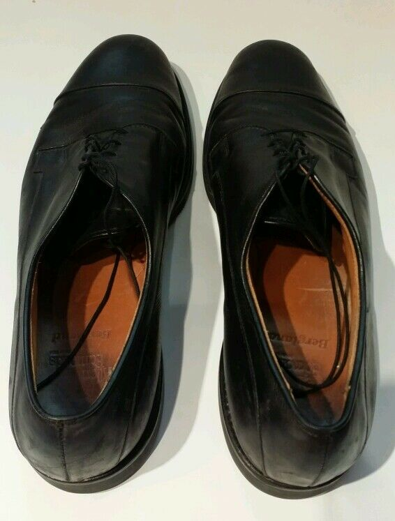 Allen Edmonds Bergland Cuero la Negro de la Cuero puntera Oxford Para Hombre Zapatos De Vestir quater 92e7c6