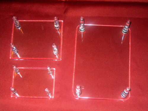 """Peg Display Stand For Duck Decoys *12 Small 3-3//8/"""" Four 4 Geodes /& Minerals"""