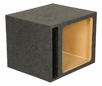 Q Power Hd115 15 Single Heavy Duty Vented Square Subwoofer Sub Enclosure Box on sale