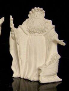 Ceramic-Bisque-Santa-Old-World-Pine-Cone-Santa-Gare-2674-Ready-to-Paint