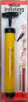 Realistico Universal-pompa Bicicletta Pompa Palla Palla Pompa Bicicletta Pompa Pompa Ad Aria Pump-giallo-e Fahrrad-pumpe Ball Ballpumpe Fahrradpumpe Luftpumpe Pump - Gelb It-it