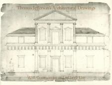 Thomas Jefferson's Architectural Drawings: With Commentary and a Check List Nic