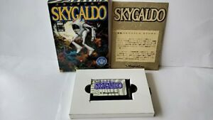 SKY-GALDO-MSX-MSX2-Game-Cartridge-Manual-and-Boxed-set-tested-a426