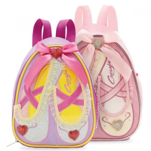 Capezio B122C Pink Purple Shoes Dance Backpack
