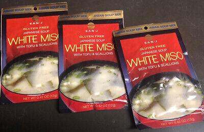 San-J Japanese WHITE MISO with Tofu & Scallions Japanese ...