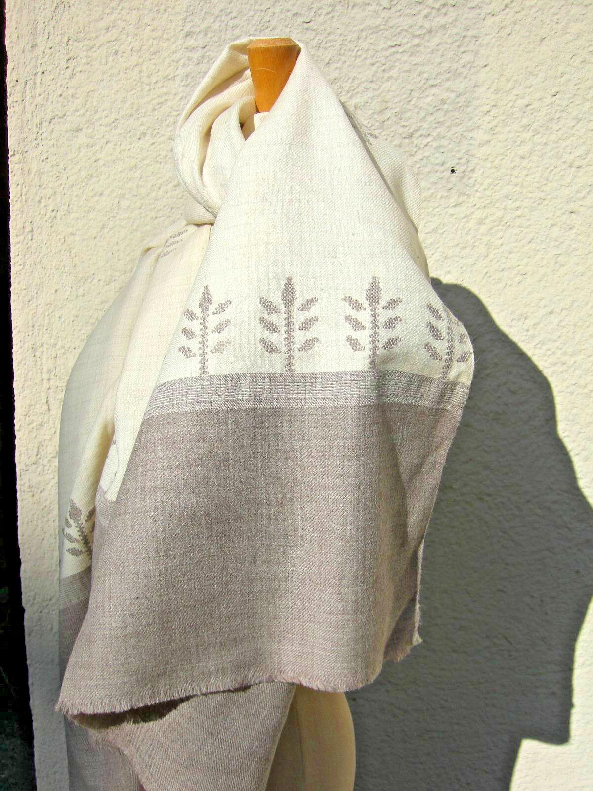 Wollschal Wolltuch Wollstola Damenschal Wolle Kullu Design Design Design v. Hand gewebt DSW-03 | Vorzüglich  | Mangelware  e9d1e7