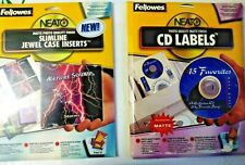 Fellowes Neato 90 Cd Labels 99941 Amp 50 Jewel Case Inserts 99997 Matte