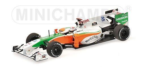 Force India  F1 Mercedes Vjm03 A. Sutil 2010 1 43 Model MINICHAMPS  vente de sortie