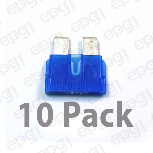 FUSE ATC15 COOPER BUSSMANN 15 AMP ATC BLADE-TYPE FUSE 10 Pack #ATC15-10PK