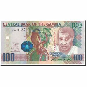 Km:29a The Gambia Unc #120141 65-70 Cheap Sales 50% 100 Dalasis 2006