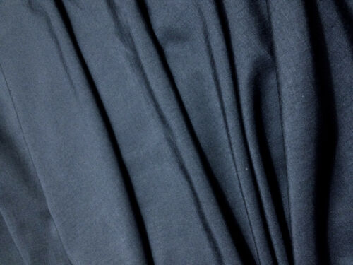 """Midnight Blue Polyester Blend Checked Weave Lining//Craft//Curtain 62/""""W *FREE P/&P*"""