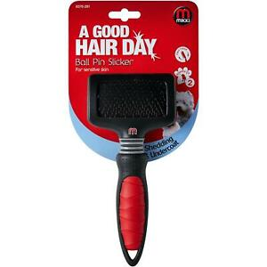Mikki-Ball-Pin-Slicker-For-Cats-Dogs-Removes-Dead-Hair-Detangles-Knots-Small