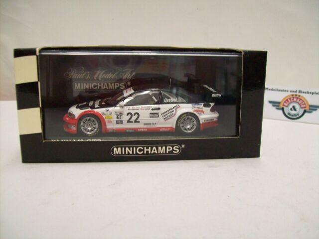 "BMW M3 GTR #22 Alms "" 24h Daytona 2004 "", Minichamps 1:43 , Emb.orig"