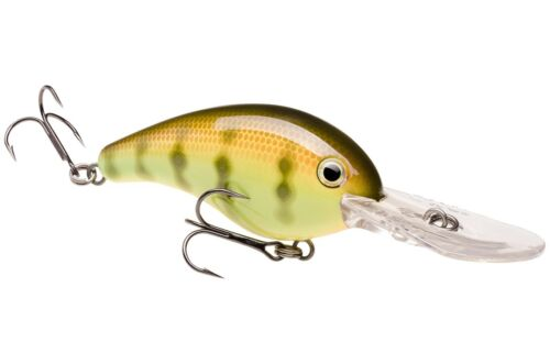 Strike King Crankbait HC10XD-650 Chartreuse Yellow Perch Extra Deep Fishing Lure