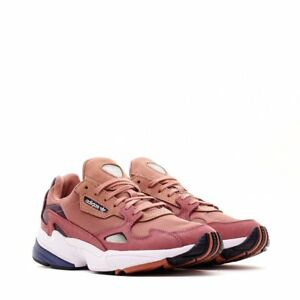 brand new f59d8 5083a Image is loading Adidas-Originals-Women-039-s-W-Falcon-Raw-Pink-