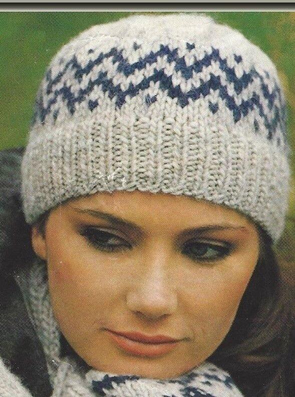 KNITTING PATTERN Ladies Sleeveless Waistcoat /& Hat SuperChunky 5582 Wendy
