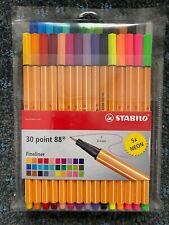 STABILO point 88 fineliner wallet of 40 colours 8840-1