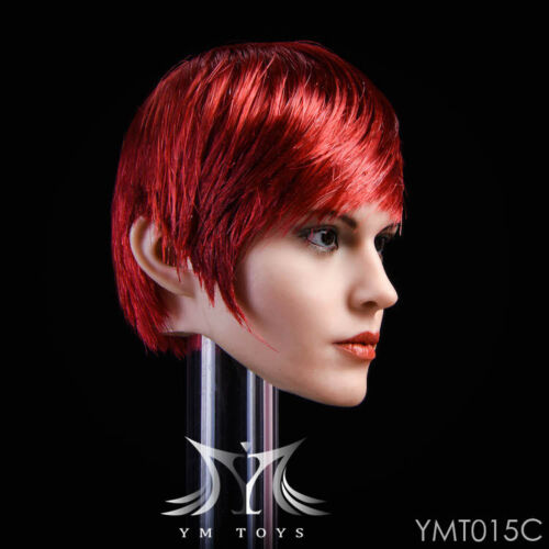YMTOYS 1//6 YMT015 C  Head Sculpt European female short  hair  figure action