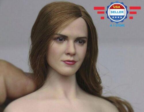 1//6 Emma Watson Head Sculpt Harry Potter Hermione for SUNTAN Phicen