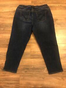 Cousues Stretchy Ankle Lane Blue 20 Bryant Fit Sz Jeans Poches Genius Zip HxwqgXzw