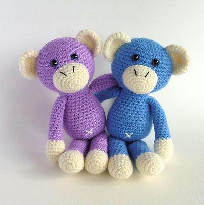Naughty monkey amigurumi pattern (com imagens) | Croche para ... | 400x398