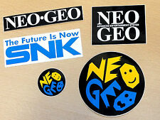 Japanese Neo Geo SNK STICKER PACK Great for NEOGEO COLLECTORS JP Jap aes cd cdz