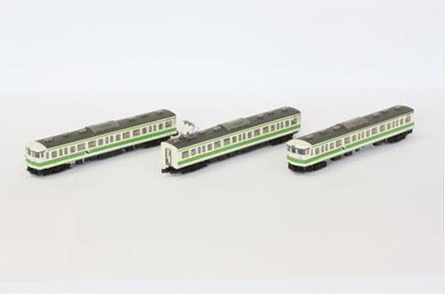 Rokuhan T011-4 Z Scale JR Series 115-1000 Suburban Train Niigata Color 3 Cars