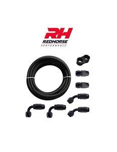 Details about Redhorse 1/2 Fuel Line 8AN Oil/Gas/Fuel Hose End Fitting Hose  Separator Kit