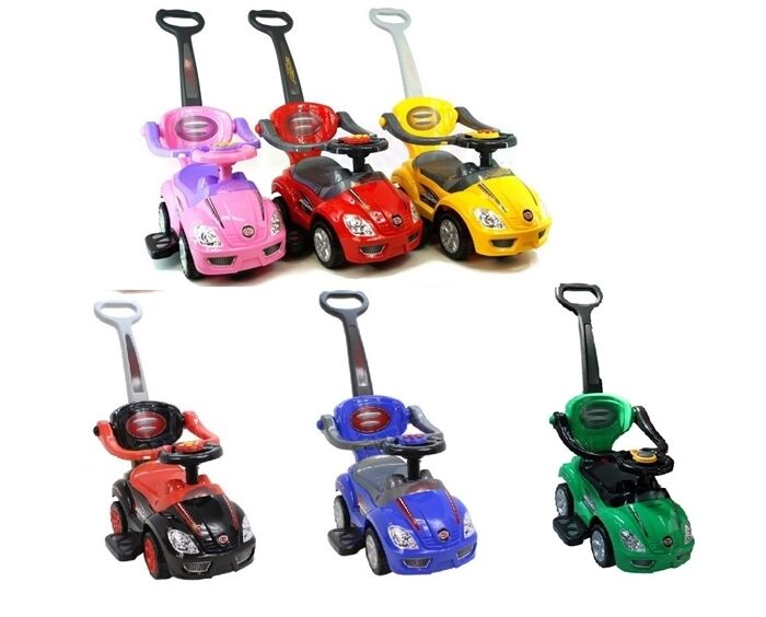 Rutschauto-Lauflerngerät-Rutscher Kinderauto Kinderfahrzeug 3in1  Z382 Sale