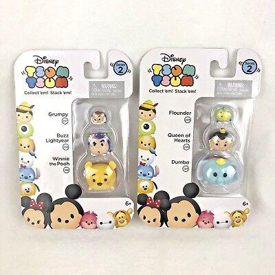 Winnie the Pooh Disney Tsum Tsum 3-pack Series 2 Buzz Lightyear Grumpy