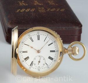 Neuwertige-Gold-Savonette-mit-Minuten-Repetition-fuer-den-Russischen-Mark-1890