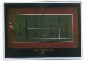 Details about 1990s NIKE AD CARD 5X7 THERE IS NO FINISH LINE TENNIS POSTER SAMPLE