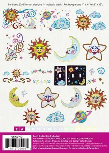 Celestial Anita Goodesign Embroidery Machine Designs CD