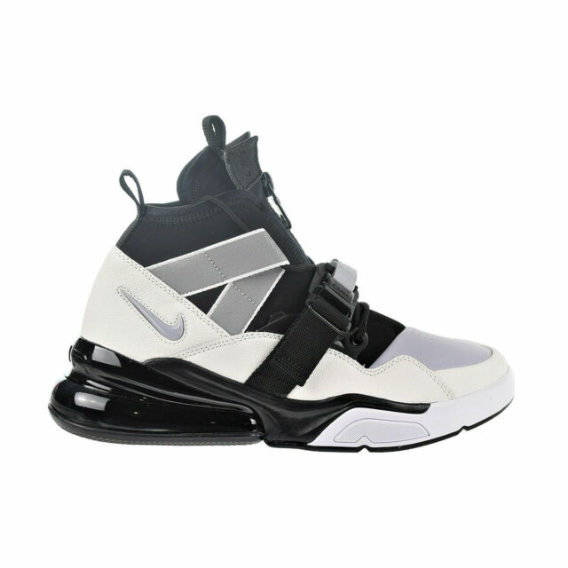 detailed look acdee 2d8ba Nike Air Force 270 Utility Men's Shoes Black/Sail/Wolf Grey/White AQ0572-003