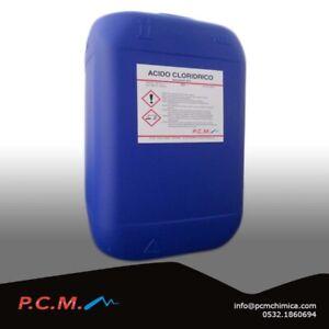 Acido Cloridrico 30 Muriatico 10 Lt Grado Tecnico Anti Calcare Pcm