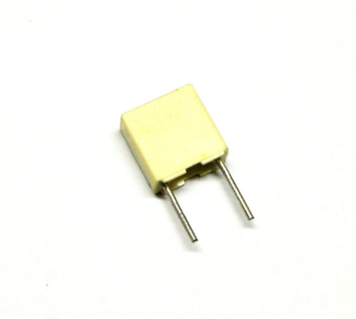 0,1uF 63V J 5/% 2,5X6,5X7,2mm Passo 5mm 5 pezzi Condensatore Poliestere 100nF