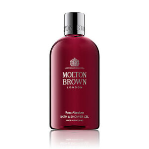 Molton-Brown-Rosa-Absolute-Bath-amp-Shower-Gel-300ml-NEW-MOLTON-BROWN-BODY-WASH