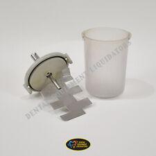 Whip Mix Vac U Mixer 875ml Plastic Bowl Replacement Set 6600