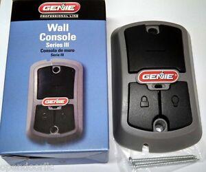 37222r Genie Wall Control Console Gbwc Bx Garage Door